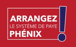 Logo de la campagne arrangez le système phénix