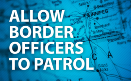 "Icon: ""Allow border officers to patrol"""