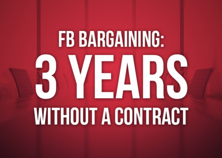 FB bargaining: 3 years without a contract