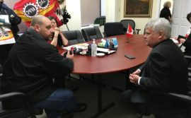 Demo in Sault Ste. Marie – Meeting with MP Terry Sheehan