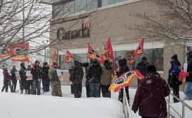 Demo in Sault Ste. Marie