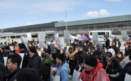 Demo at Pearson Airport