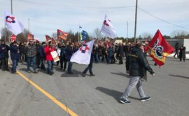 Demo in Lacolle