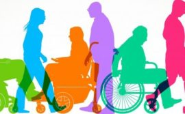 Illustration of different types of disabilities