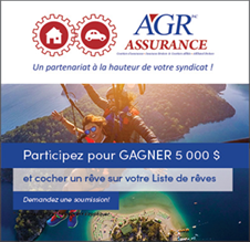 Concours AGR gagnez 5 000$