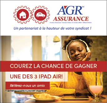 Concours AGR gagnez un iPad Air